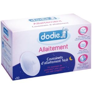 Dodie 6502553 - 30 coussinets d'allaitement Nuit