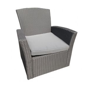 Chaise jardin gris anthracite comparer 396 offres for Chaise jardin gris anthracite
