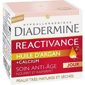Diadermine Réactivance à l'huile d'argan - Anti-Rides Jour 50 ml