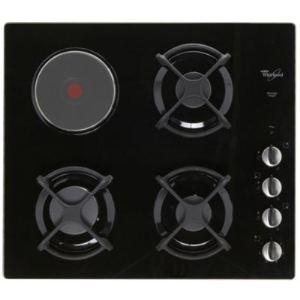 Whirlpool AKM 404/NB - Table de cuisson mixte (gaz et électrique) 4 foyers