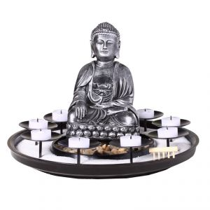 Bouddha photophore comparer 18 offres for Fontaine zen gifi