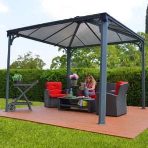 pergola aluminium comparer 603 offres. Black Bedroom Furniture Sets. Home Design Ideas