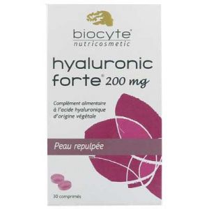Biocyte Hyaluronic forte 200mg - 30 comprimés