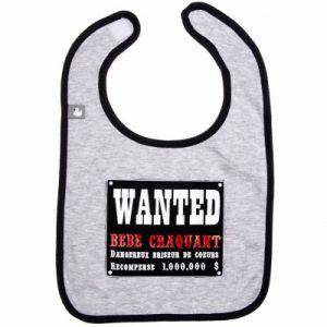 BB & Co Bavoir Wanted bébé craquant