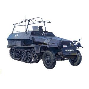 AFV Club AF35S50 - Maquette Half-track : Véhicule radio Allemand Sd.Kfz 251/3 Ausf.C - Echelle 1:35