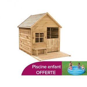 Forest Style Heidi - Maisonnette en bois pour enfant