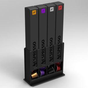 Tavola swiss CAPstore Box II - Présentoir pour 4 boîtes de 10 capsules Nespresso