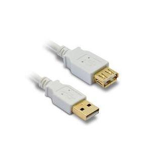 Metronic 495215 - Rallonge USB 2.0 mâle A / femelle A 1,80m