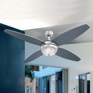 Globo Azalea - Ventilateur de plafond lumineux 4 pales