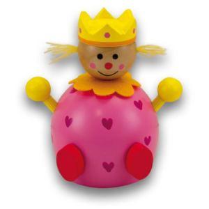 Ulysse Couleurs d'Enfance Tirelire Princesse en bois coloré