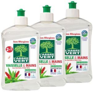 L 39 arbre vert liquide vaisselle et mains aloe vera 500 ml - Entretien de l aloe vera ...