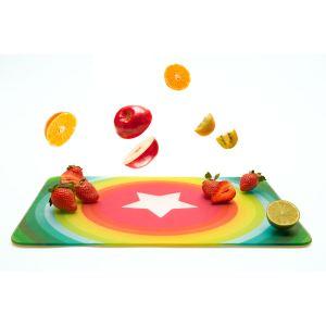 Pebbly Planche à découper multifonction rectangulaire Wonder (30 x 40 cm)