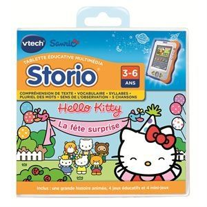 Vtech Jeu tablette Storio : Hello Kitty