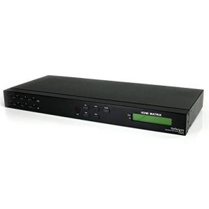 StarTech.com VS440HDMI - Répartiteur/commutateur de matrice vidéo HDMI 4x4 avec audio et RS232