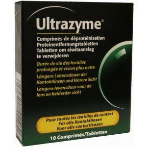 Amo Ultrazyme - 10 comprimés de déprotéinisation