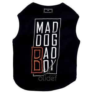Bobby Mad Dog - Tee shirt pour chien 100% coton