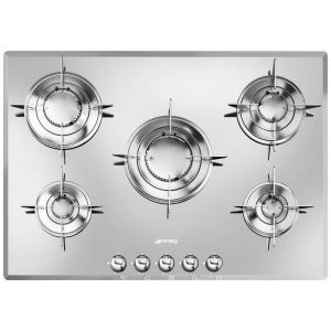 Smeg PTV705 - Table de cuisson gaz 5 foyers