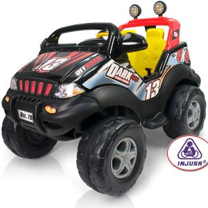Injusa Dark Fire Giant Jeep 2 places 12 Volt