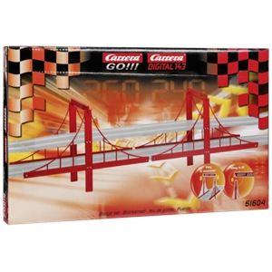 Carrera Toys 61604 - Jeu de ponts x4 pour circuit Go!!! et Digital 143