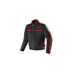 Spidi Symbol (noir et rouge) - Blouson de moto textile waterproof pour homme