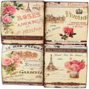 Plaque décorative Publicité grand prix d'horticulture (40 x 40 cm)