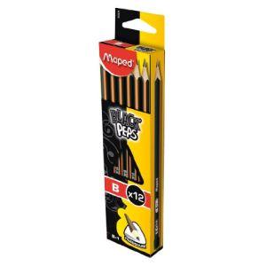 Maped Crayon Black'peps B (2,2 mm)