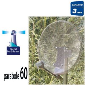 Sedea 765600 - Parabole satellite 60 cm + LNB 1 TV