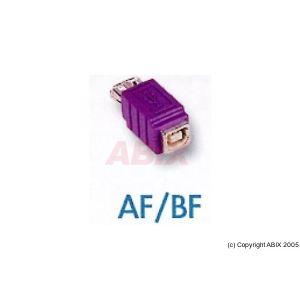 Dexlan 081210 - Adaptateur USB Type A/B F/F