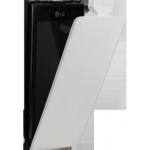 Modelabs ETUICOXLGL7W - Étui à rabat pour LG Optimus L7 P700