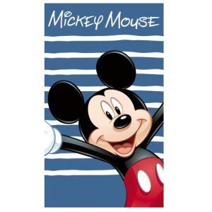 Cti 041398 - Drap de bain/plage Mickey Happy (70 x 120 cm)