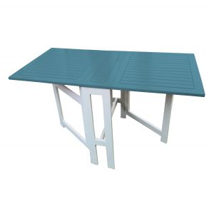 City green Burano - Table de jardin rectangulaire pliante 130 x 65 x 72 cm