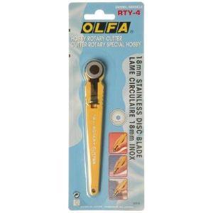 Olfa Cutter rotative Rty-4 (lame 18 mm)
