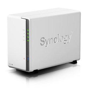 """Synology DS213j - Serveur NAS DiskStation 2 baies 2.5""""/3.5"""" Ethernet"""