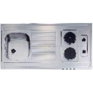 Teka 10301107 - Recouvrement pour cuisinette 120 cm avec 2 plaques électriques