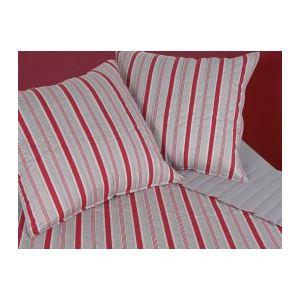Soleil d'Ocre Couvre-lit Aubrac avec 2 taies en coton