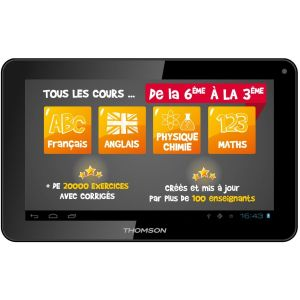 "Thomson TEO-QD10BK8E - Tablette tactile 10.1"" sous Android 5.0"
