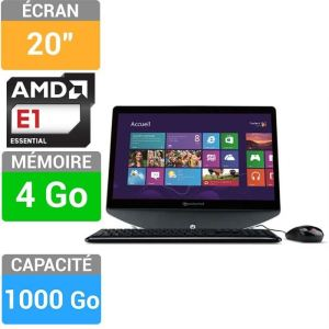 "Packard Bell oneTwo S AK4G1TU02 - All in One 20"" avec AMD E1-2500"