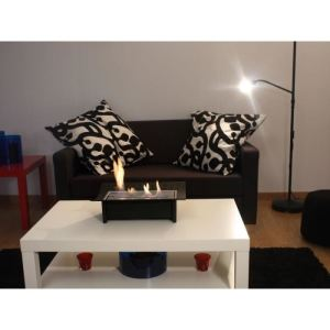 cheminee ethanol table comparer 30 offres. Black Bedroom Furniture Sets. Home Design Ideas