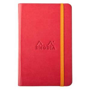 Rhodia 118753C Rhodiarama coquelicot A5 - Webnotebook format 14,8 x 21 cm 192 pages ligné
