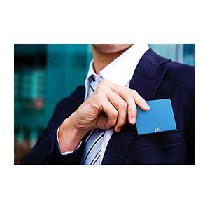 Oxford Pocket Notes agrafé couverture carte - 9 x 14 cm - 48 pages - ligné 6 mm - bleu primaire