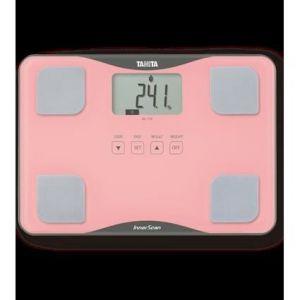 Tanita BC718PK36 - Pèse-personne en verre ultra fin avec fonction impédancemètre