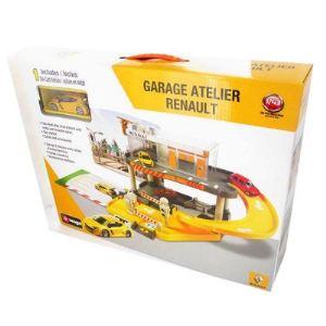 Bburago Garage atelier Renault 2 niveaux