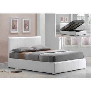 578 offres lit coffre blanc obtenez le meilleur prix avec touslesprix. Black Bedroom Furniture Sets. Home Design Ideas