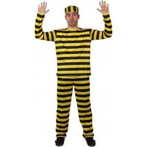Atosa Déguisement de prisonnier homme (taille M/L ou XL)