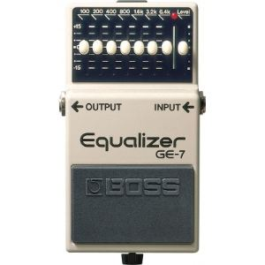 Boss Effect GE-7 - Pédale Equalizer