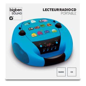 Bigben Interactive CD52 - Lecteur CD radio portable MP3 USB