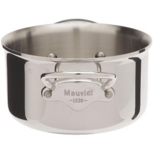 Mauviel 5231.16 - Bassine à ragoût M'cook sans couvercle en fonte d'inox (16 cm)