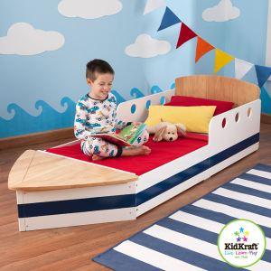 KidKraft 76253 - Lit bateau pour tout-petits