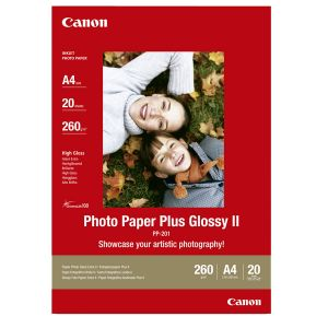 Canon 2311B019 - 20 feuilles de papier photo Plus II 260g/m² (A4)