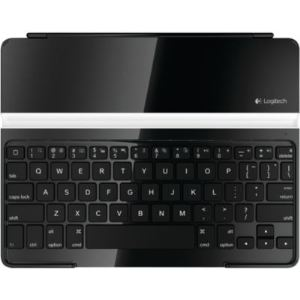 Logitech 920-004225 - Ultra Thin Keyboard Cover - Clavier étui sans fil Bluetooth pour iPad 1, 2